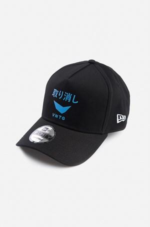 Boné 9Forty New Era X Vntg Preto E Azul