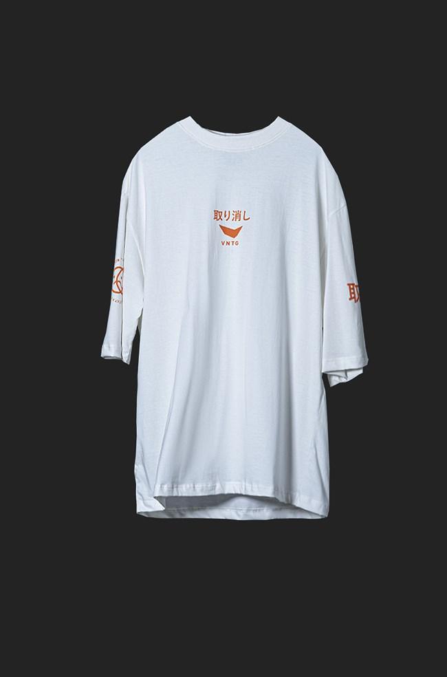 Camiseta Ampla Vntg Off White