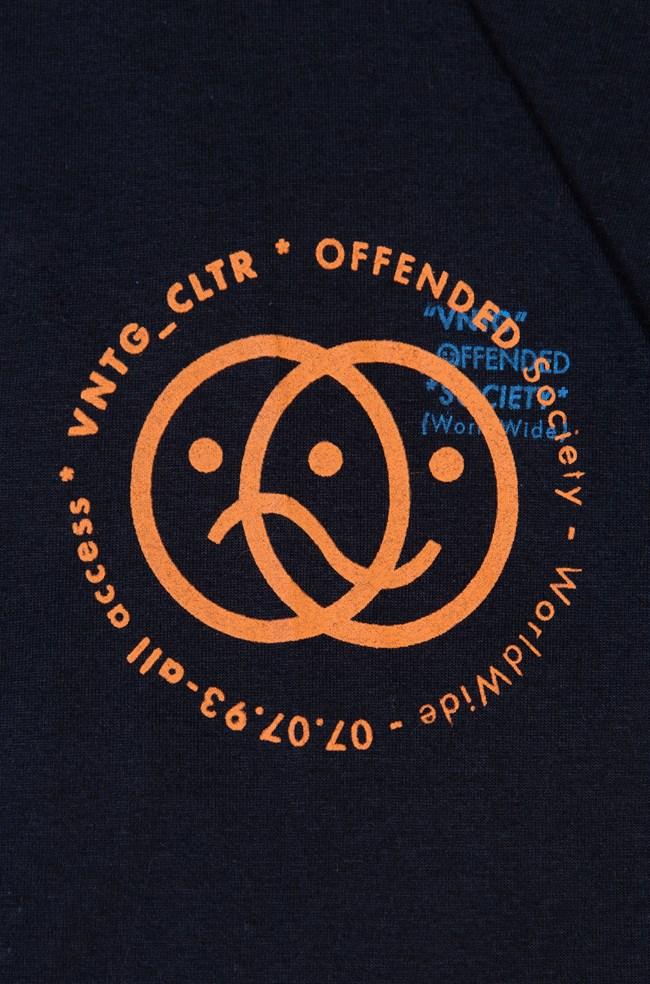 Camiseta Ampla Vntg Preta